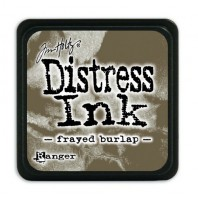 Ranger Distress Mini Ink pad - frayed burlap TDP39990 Tim Holtz