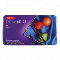 Derwent Coloursoft 72 st blik DCS0701029 (07-17)