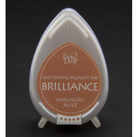 Dew Drop Brilliance Pearlescent Rust