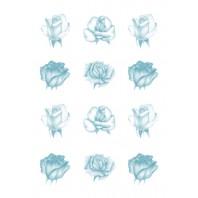 Vellum rozen blauw 62551