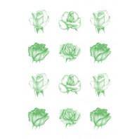 Vellum rozen groen 62552