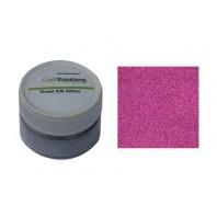 CraftEmotions Finest Silk Glitter roze 16gr