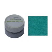 CraftEmotions Finest Silk Glitter pruisisch blauw 16gr