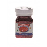 Flash Glitter Colorall 150 ml rood