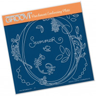 Groovi Plate A5 BARBARA'S ENTWINED WREATH - SUMMER 41434