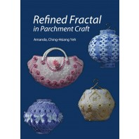 PER ORDER Book Amanda Yeh Refined Fractal in Parchment Craft