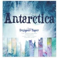 """ANTARCTICA DESIGNER PAPER PACK 8"""" X 8"""""""