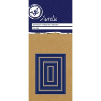 Aurelie Stitched Rectangle Mini Nesting Die
