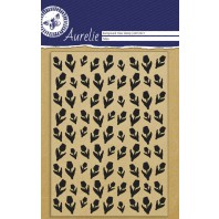 Aurelie Clear Stamp Tulips Background
