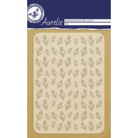 Aurelie embossing folder Tulips Background