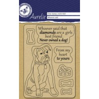 "Aurelie  Clear stempel ""Whoever said"""