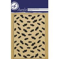 Aurelie Clear Stamp Wooden Shoes Background