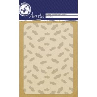 Aurelie embossing folder Wooden Shoes Background