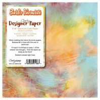 Claritystamp Design Paper Pack 8x8 BARB'S FAVOURITES X 10 SHEETS