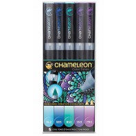 Chameleon 5-Pen Cool Tones Set