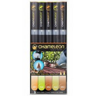 Chameleon 5-Pen Earth Tones Set