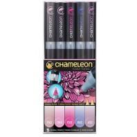 Chameleon 5-Pen Floral Tones Set