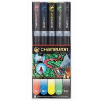 Chameleon 5-Pen Primary Tones Set
