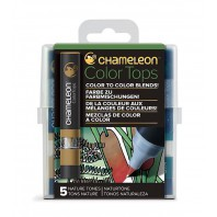 Chameleon Color Tops Nature Tones