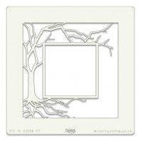 Clarity Art Stencil 7x7 Inch Tree Box