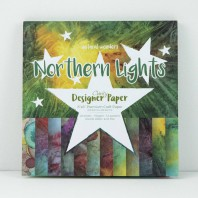 Claritystamp Design Paper Pack 8x8 Northern Lights