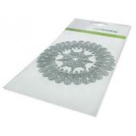 CraftEmotions Die - frame rond Cristal shine Card 10,5x14,8cm 10,5cm