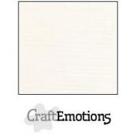 CraftEmotions linnenkarton 10 vel champagne LHC-06 A4 250gr