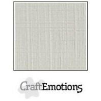 CraftEmotions linnenkarton 10 vel pastel creme LHC-103 A4 250gr