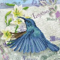 DIAMOND DOTZ Hummingbird Travels DD5.053