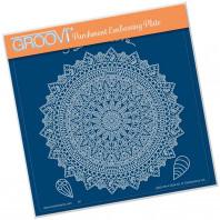 Groovi Plate A5 TINA'S SPIRITUAL DEVOTION MANDALA 41524