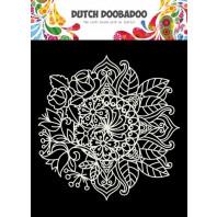 Dutch Doobadoo Mask Art 15x15cm Mandala met Bloem 470.715.624