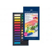 Sjabloneerkrijt Faber Castell 24 st mini