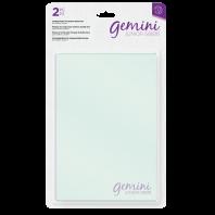 Transparante snijplaten voor dubbelzijdige snijmallen Gemini Junior