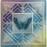 Gerti Hofman Design, Blauwe Glinsterende Vlinder NL