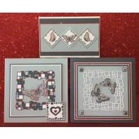 Gerti Hofman Design, Drie kaarten met Gerti's Deco-blokken NL
