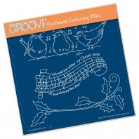 Groovi Plate WE WISH YOU A MERRY CHRISTMAS  A5