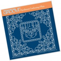 Groovi Plate A6 TINA'S CHRISTMAS STOCKINGS PARCHLET