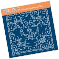 Groovi Plate A6 TINA'S CHRISTMAS CANDLE PARCHLET
