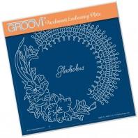Groovi Plate LINDA'S GLADIOLUS  A5