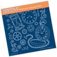 Groovi Plate A5 CLOCKS GRO-OB-40735-03
