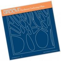 Groovi Plate WOODLAND GLADE A5