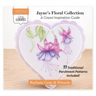 Groovi Clarity II Book: Jayne's Floral Collection - Groovi