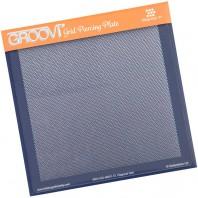 Groovi Grid Piercing Plate Diagonal