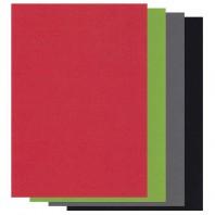 Groovi Parchment Paper A5 mix Christmas Colours