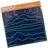 Groovi Plate Mountains & Hills
