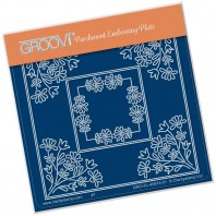 Groovi Plate A6 TINA'S Wild Flowers Parchlet