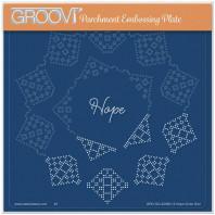 JOSIE DAVIDSON'S HOPE CIRCULAR LACE DUET A5 SQUARE GROOVI GRID 42056