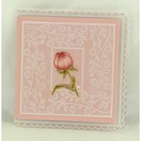 Janneke's Parchment Design, Pioenroos in knop