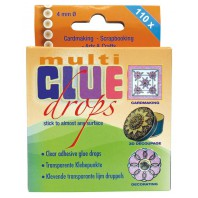 Glue Drops Multi 4 mm