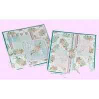 Pakket kaarten designpapier Noor en Gerti's Butterfly